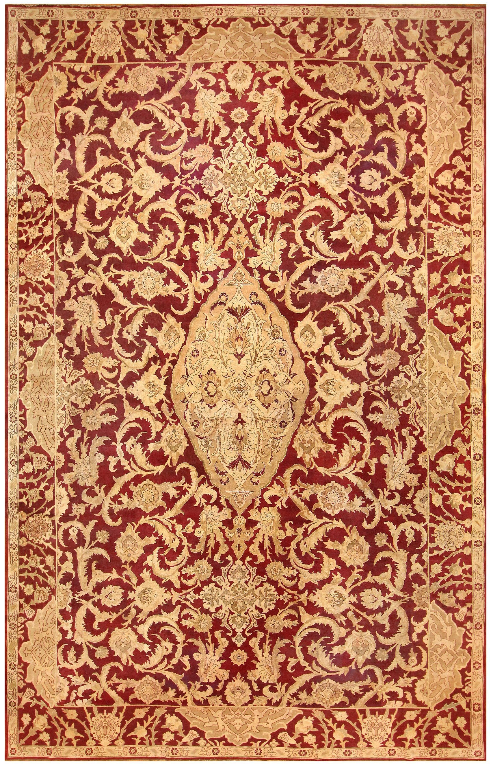 Agra Rug Agra Rugs Agra Carpets Antique Oriental Rug 42095 With Agra Rugs (Image 1 of 15)