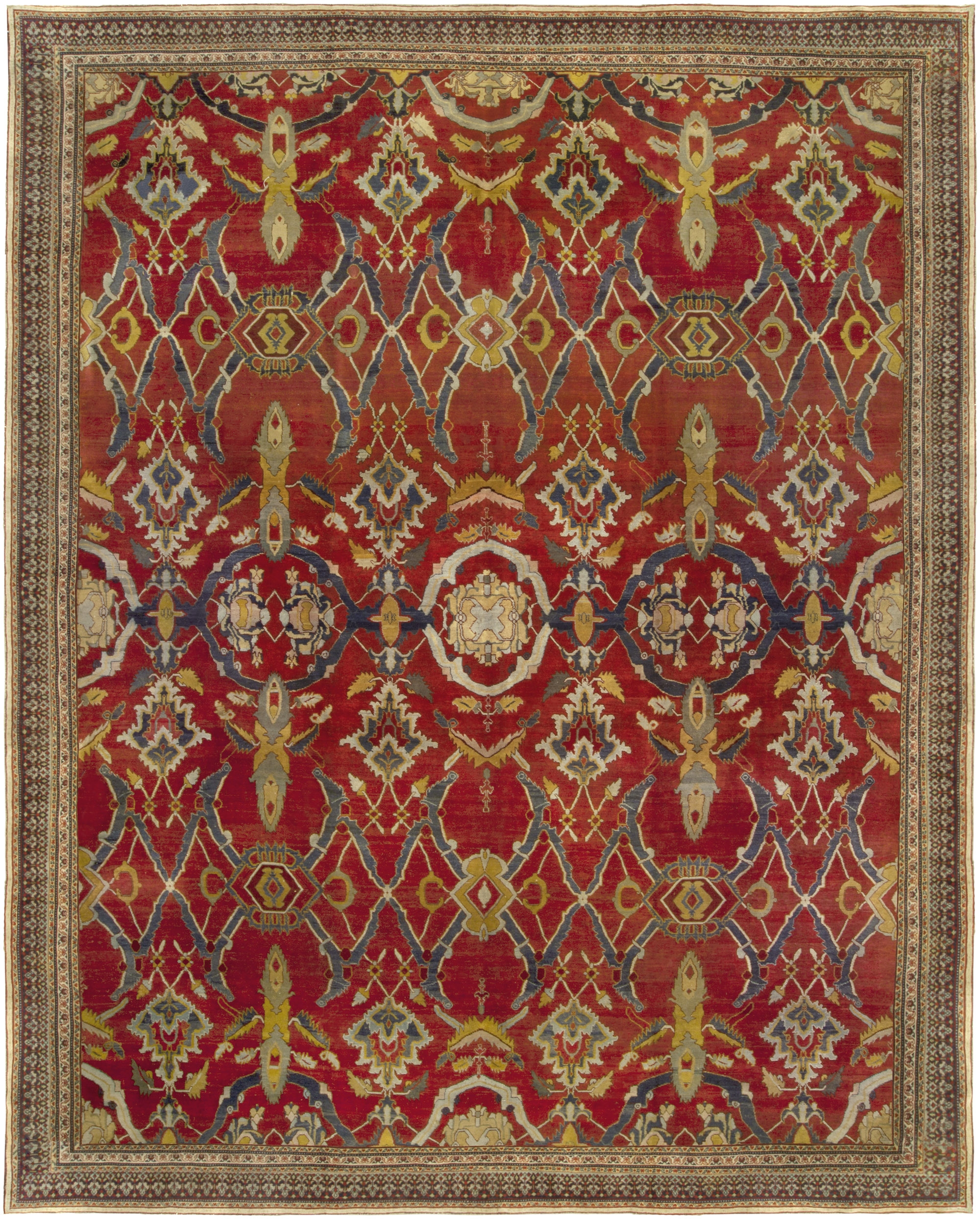 Agra Rugs Antique Indian Doris Leslie Blau New York Intended For Agra Rugs (Image 3 of 15)