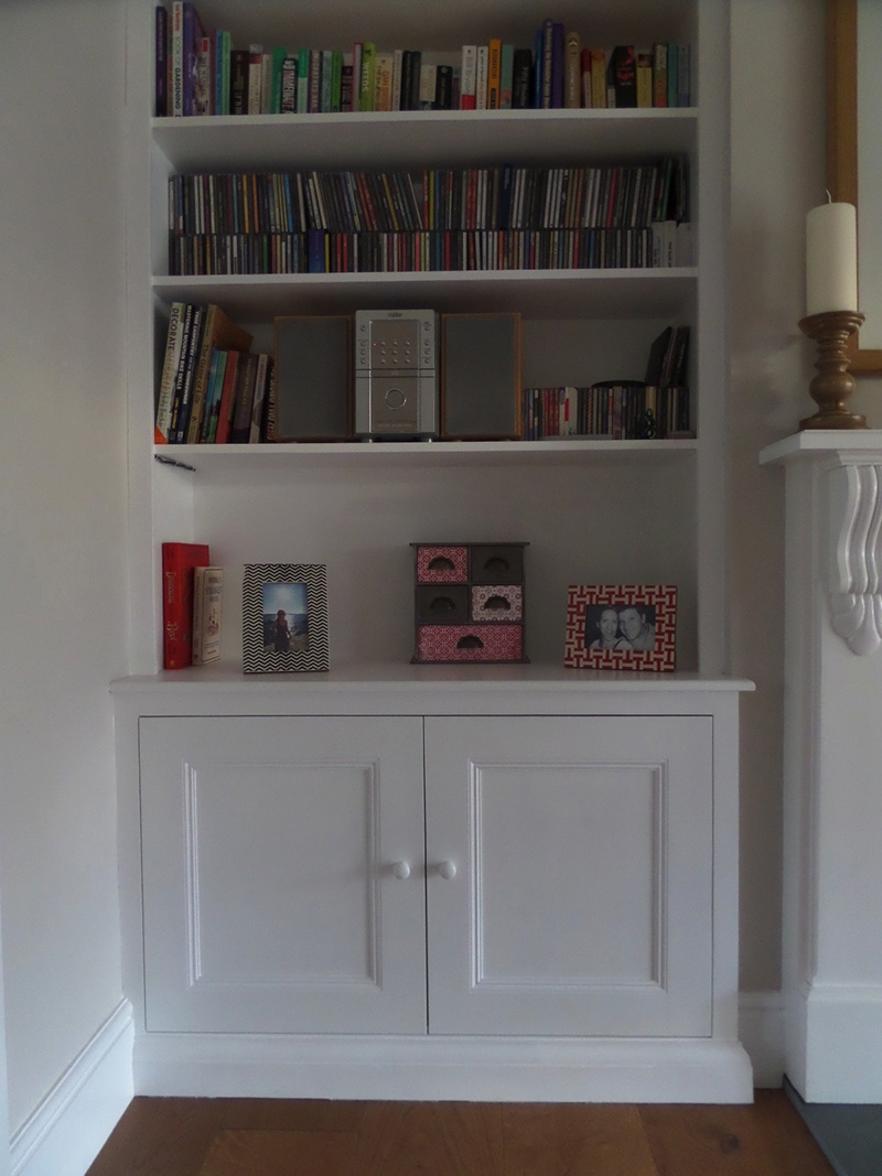 Alcoves James Houseman With Regard To Shelves And Cupboards (Image 1 of 15)