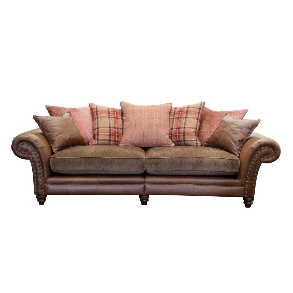 Alexander James Hudson 4 Seater Sofa Cardiff Swansea Bridgend In 4 Seater Couch (Image 1 of 15)