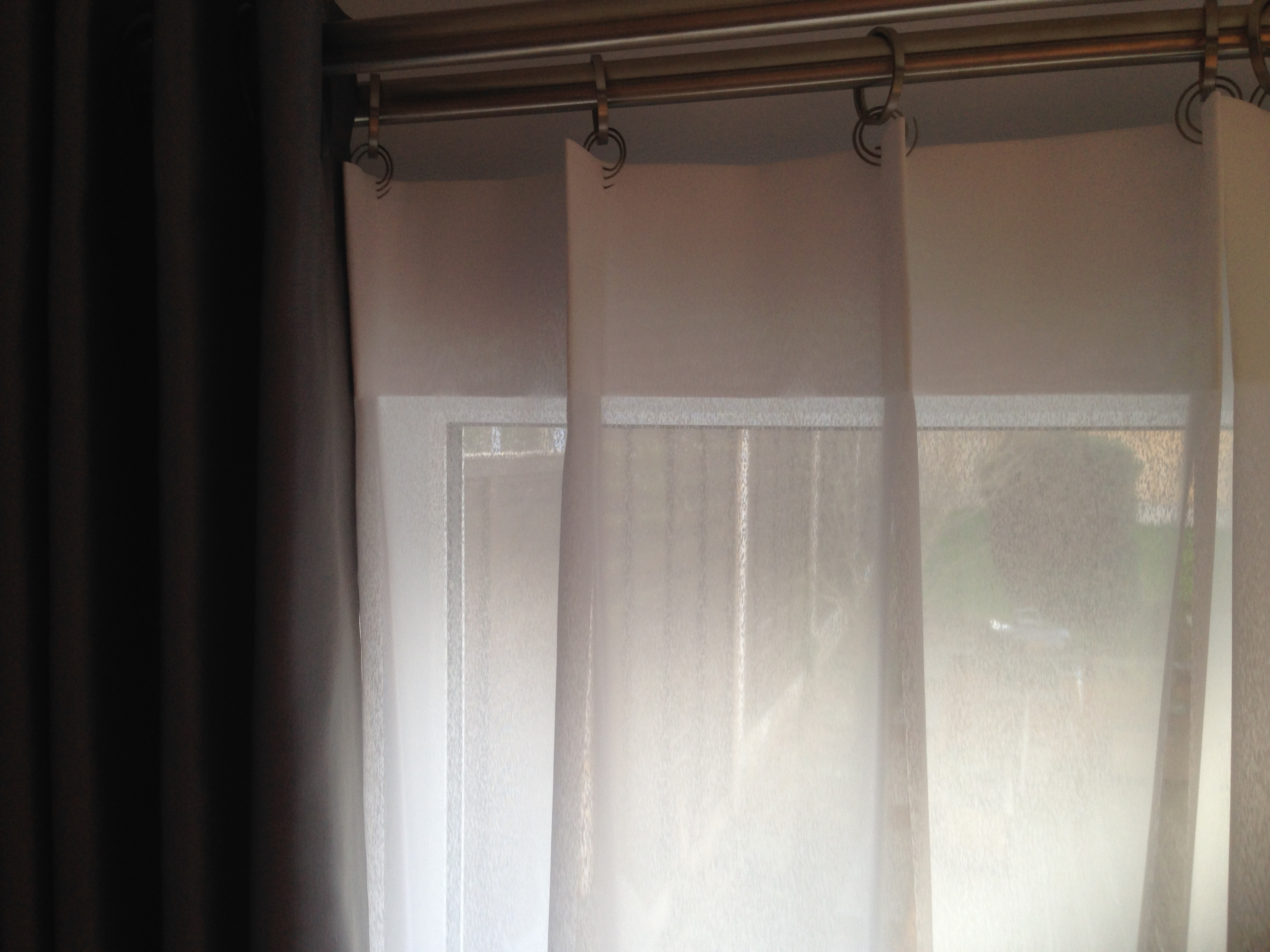 Alluring Graphic Of Welfare White And Blue Drapes Popular Pink Inside Dark Grey Sheer Curtains (Image 2 of 25)