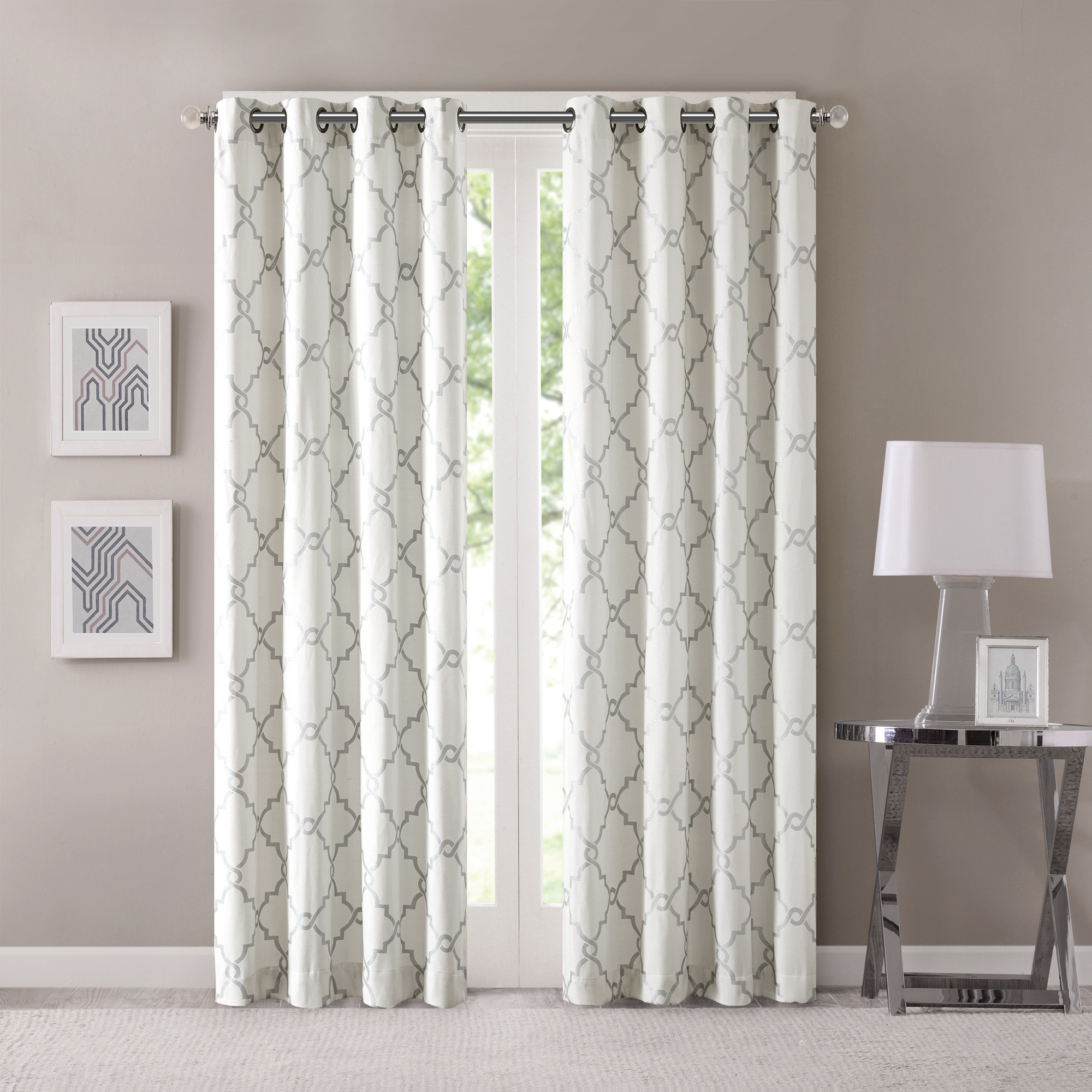 Alluring Photograph Utteramazement Cheap Blinds Charismatic Pertaining To Pattern Curtain Panels (Image 1 of 25)