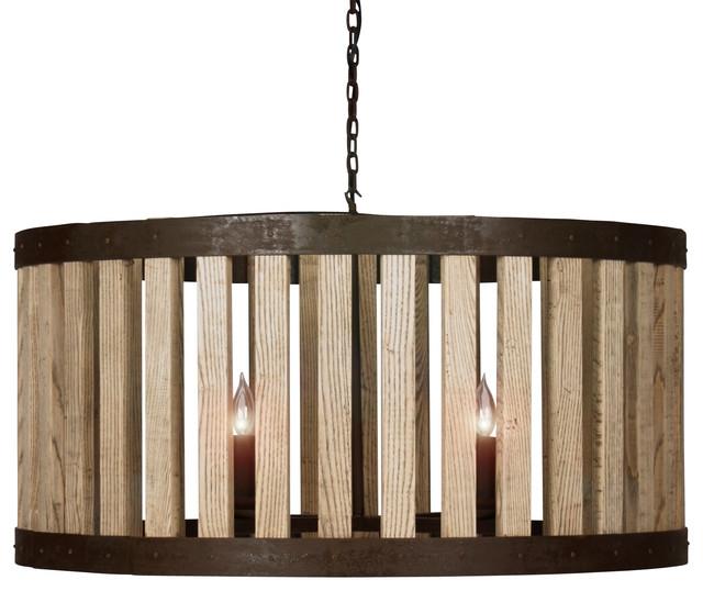 Amazing Common Reclaimed Pendant Lighting Inside Reclaimed Elm Wood Rustic Barrel Pendant Light Pendant Lighting (Image 1 of 25)