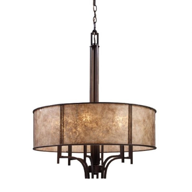 Amazing Deluxe Arts And Crafts Pendant Lighting Pertaining To Craftsman Bronze Mini Pendant Lights Lighting Style Mission (Image 1 of 25)