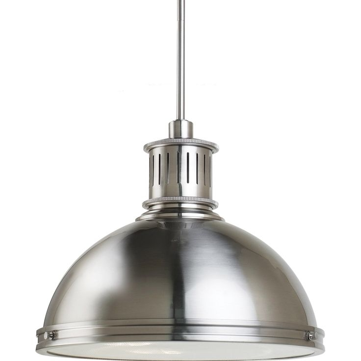 Amazing Elite Brushed Stainless Steel Pendant Lights Pertaining To 15 Best Kitchen Images On Pinterest (Image 2 of 25)