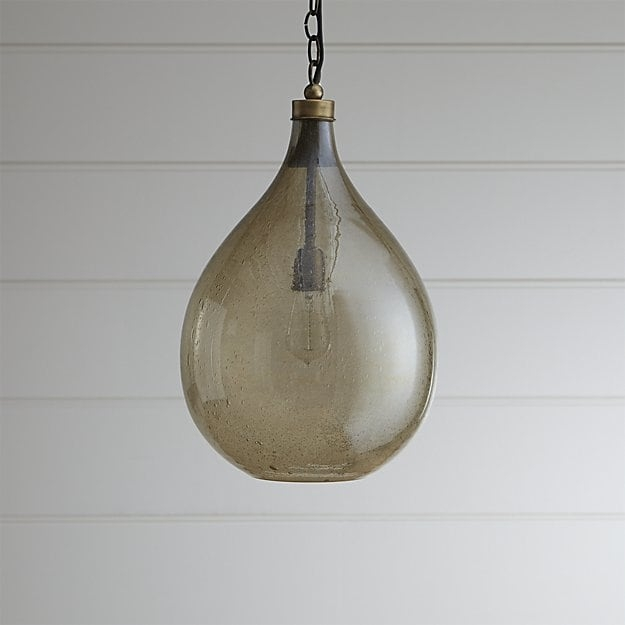 Amazing Elite Crate And Barrel Pendant Lights Intended For Glass Teardrop Pendant Light Crate And Barrel (Image 1 of 25)