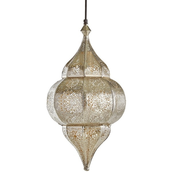 Amazing Elite Pier One Pendant Lights Intended For Pier 1 Imports Ayla Pendant Light 120 Cad Liked On Polyvore (Image 2 of 25)