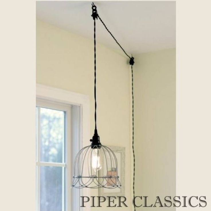 Amazing Elite Plug In Hanging Pendant Lights With Amazing Hanging Lamp Plug Into Wall Fresh Design Best 25 In Wall (Image 3 of 25)