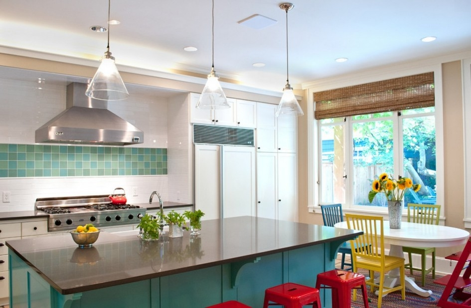 Amazing Elite Stainless Steel Pendant Lights For Kitchen For Majestic Kitchen Island Countertop Different Color With Modern (Image 1 of 25)