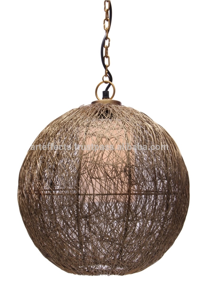 Amazing Elite Wire Ball Pendant Lights For Mesh Wire Ball Shaped Pendant Light Buy Pendant Lightmodern (Image 1 of 25)