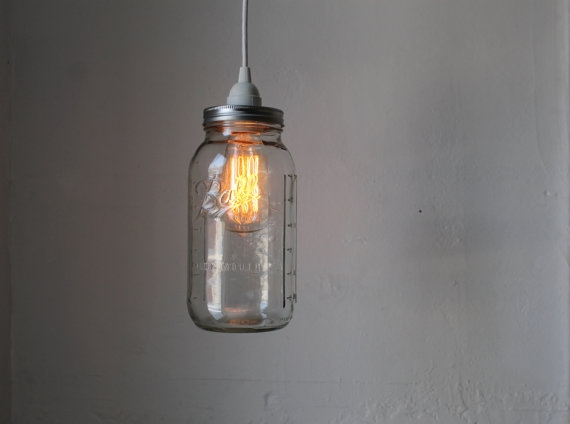 Featured Image of Mason Jar Pendant Lamps