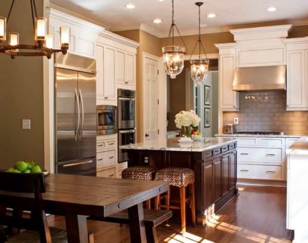Amazing Famous Pendant Lamps For Kitchen Throughout Great Hanging Lamps For Kitchen Hanging Lights Over Kitchen Island (Image 1 of 25)