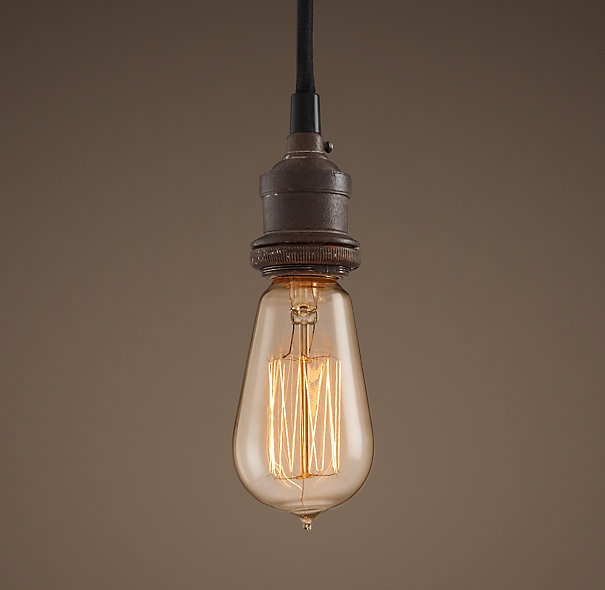 Amazing Fashionable Bare Bulb Pendant Lighting Pertaining To Colors Hardware And Pendants On Pinterest (Image 2 of 25)