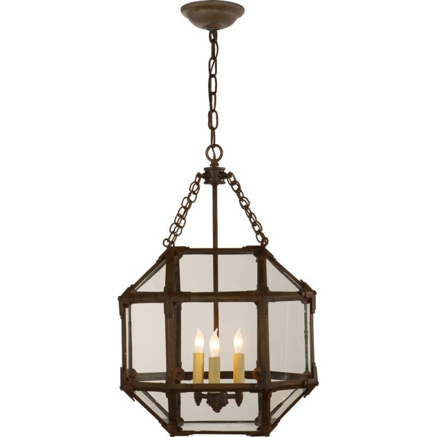 Amazing Fashionable Octagon Pendant Lights Intended For Visual Comfort Sk5008az Cg Suzanne Kasler 3 Light Small Ceiling (Image 2 of 25)