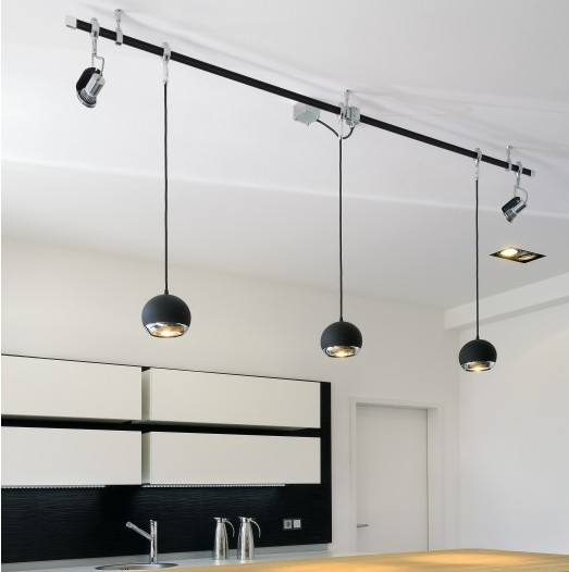 Amazing Fashionable Track Lighting Pendant Fixtures With Regard To How To Configure A Track Lighting System (View 15 of 25)