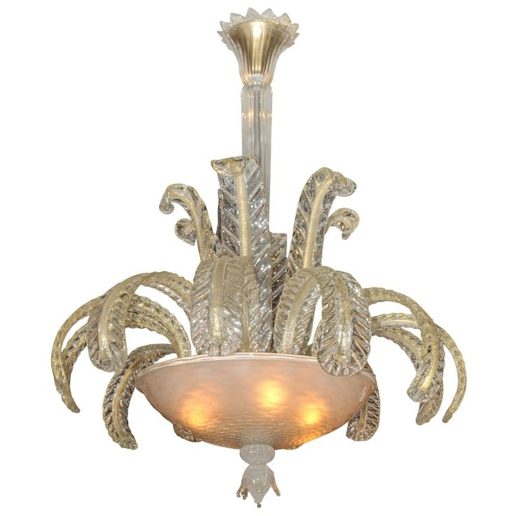Amazing Fashionable Venetian Glass Ceiling Lights Throughout 127 Best Murano Venetian Glass Lighting Mirrors Art Glass Vintage (View 12 of 25)