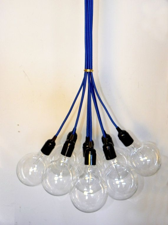 Amazing High Quality Bare Bulb Cluster Pendants Inside 120 Best Lighting Images On Pinterest (Image 1 of 25)