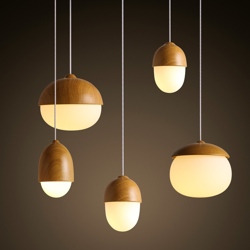 Amazing High Quality Base Plate Pendant Lights Intended For Iron Ceiling Plate Base Metal Lamp Body With Wood Wooden Effect (Image 2 of 25)