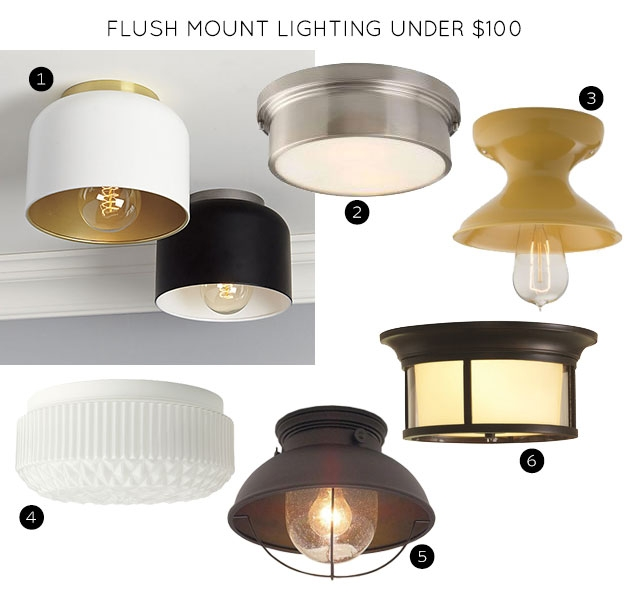 Amazing Latest Cb2 Light Fixtures Within The 30 Best Flush Mount Lighting Fixtures Making It Lovely (Image 2 of 25)