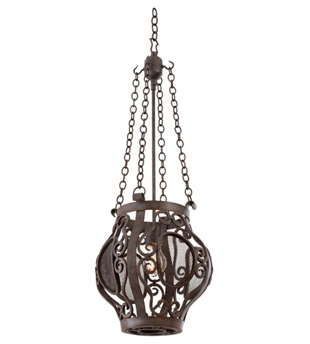 Amazing Popular Copper Mini Pendant Lights Regarding Kalco 500150oc Isabel 1 Light 12 Inch Oxidized Copper Mini Pendant (Image 1 of 25)