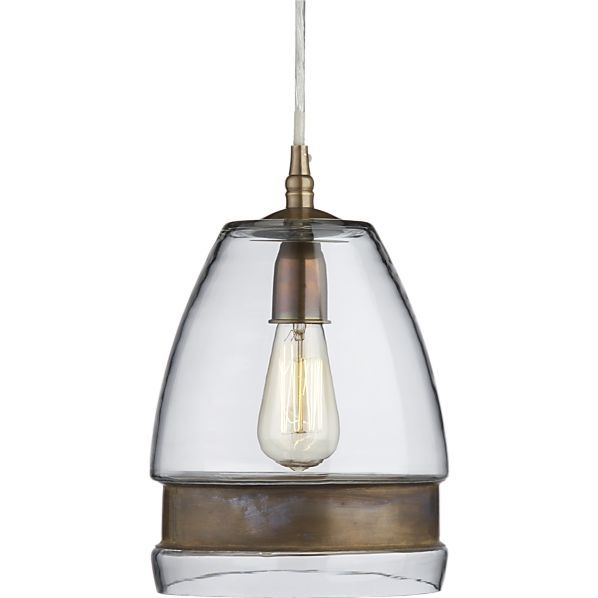 Amazing Popular Crate And Barrel Pendant Lights With 41 Best Pendant Lights Images On Pinterest (Image 2 of 25)
