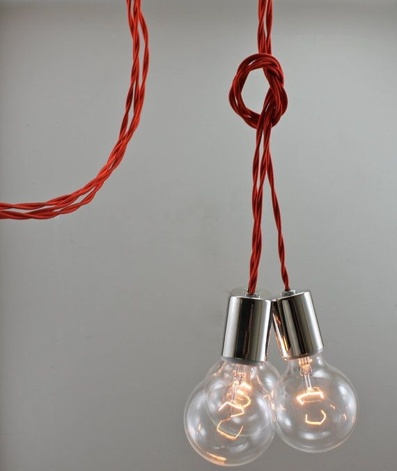 Amazing Popular Three Light Bare Bulb Pendants For 10 Best Scandalaskan Images On Pinterest (Image 1 of 25)