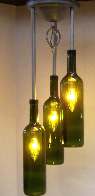 Amazing Popular Wine Bottle Pendants With Agreeable Wine Bottle Pendant Light Magnificent Home Interior (Image 3 of 25)