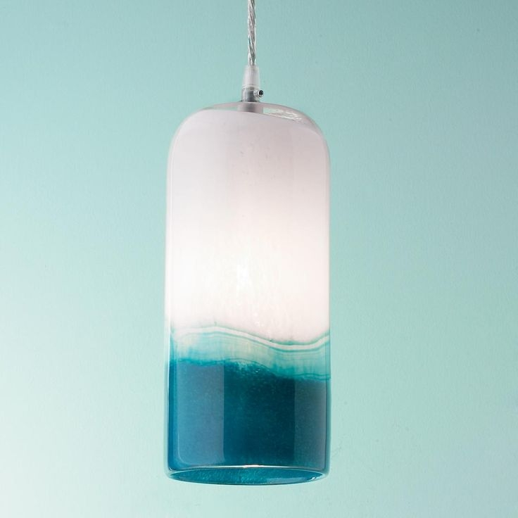 Amazing Series Of Blue Pendant Light Shades Inside 52 Best Blue Pendants For Kitchen Images On Pinterest (Image 4 of 25)
