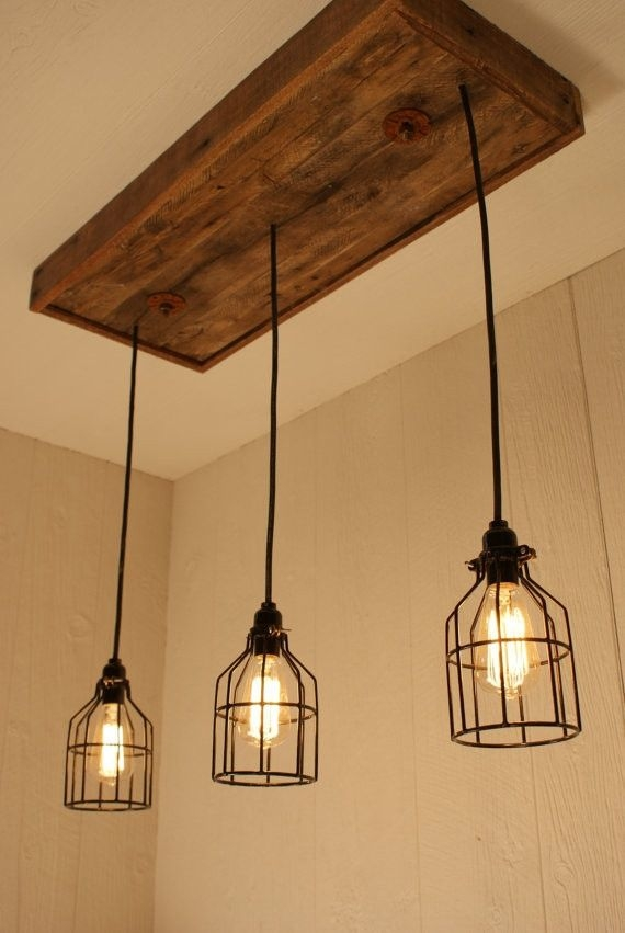 Amazing Series Of Three Light Bare Bulb Pendants Regarding Best 25 Edison Lighting Ideas On Pinterest Rustic Light (Image 2 of 25)