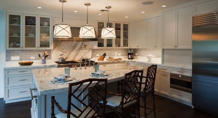 Amazing Top Grosvenor Pendant Lights Within Kitchen Island Wine Rack Transitional Kitchen Hillary (View 13 of 25)