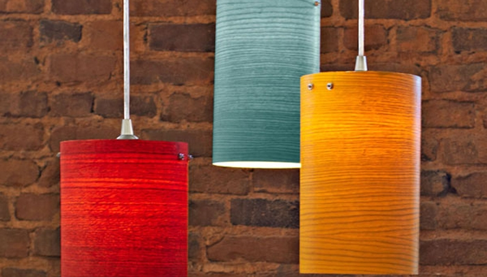 Amazing Top Wood Veneer Pendant Lights Regarding Wood Veneer Pendant Lights (View 11 of 25)