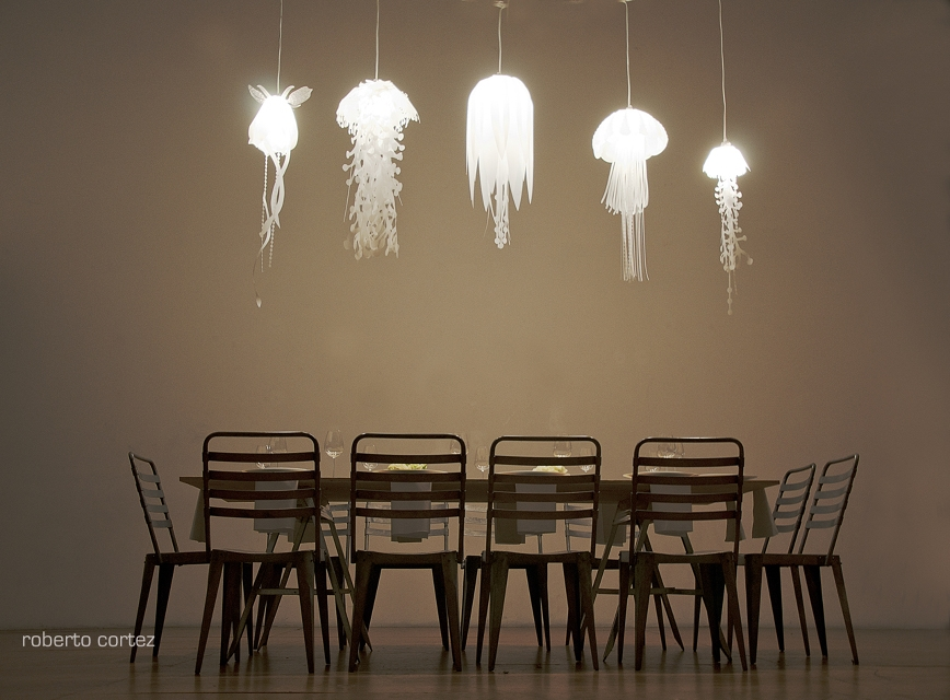 Amazing Trendy Jellyfish Inspired Pendant Lights With Regard To Jellyfish Inspired Lighting Collections (View 1 of 25)