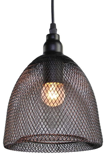 Amazing Unique Chicken Wire Pendant Lights Regarding Dome Pendant Light Industrial Pendant Lighting Lnc Home (Image 3 of 25)