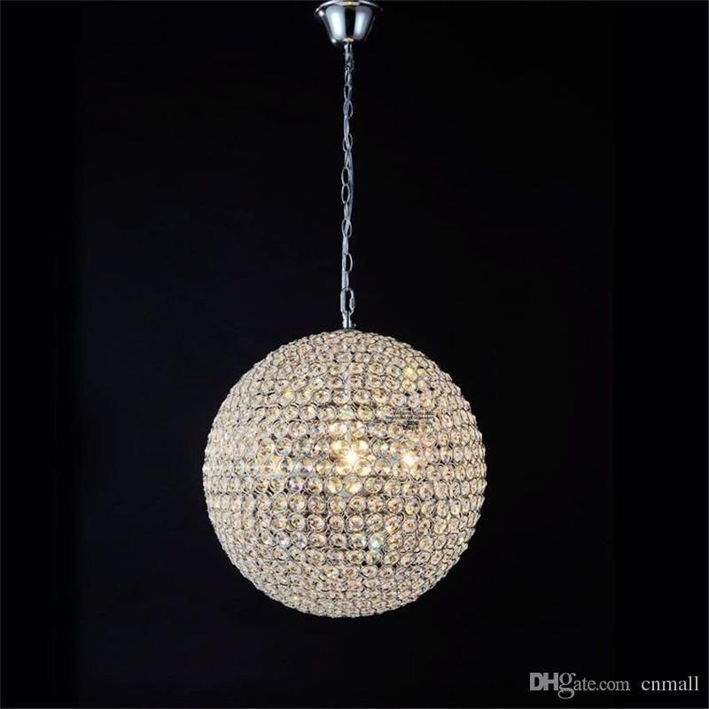 Amazing Variety Of Ball Pendant Lighting With Led Crystal Ball Lighting Crystal Pendant Lights Minimalist Living (Image 3 of 25)