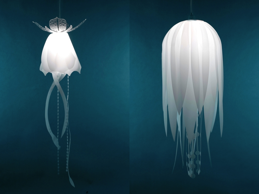 Amazing Variety Of Jellyfish Inspired Pendant Lights Within Jellyfish Inspired Pendant Lights Danlev On Deviantart (Image 3 of 25)