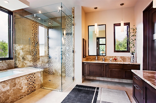 Amazing Well Known Bathroom Mini Pendant Lights Pertaining To Five Places To Use Pendant Lighting 1000bulbs Blog (Image 2 of 25)