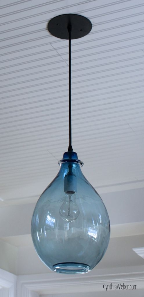 Amazing Wellknown Blue Pendant Light Fixtures Throughout Best 20 Blue Pendant Light Ideas On Pinterest Blue Light Bar (Image 1 of 25)