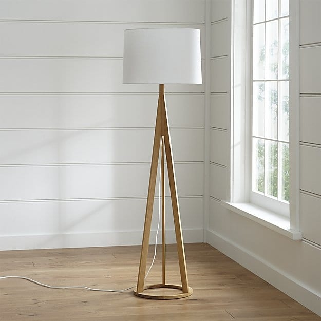 Amazing Wellknown Crate And Barrel Lighting Within Jackson Floor Lamp Crate And Barrel (Image 2 of 25)
