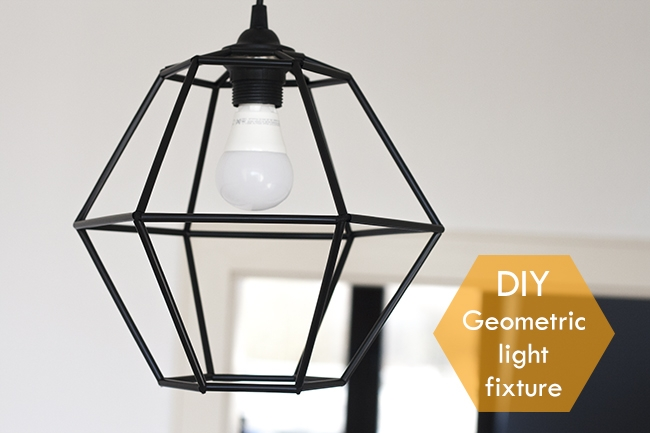 Amazing Well Known Dodecahedron Pendant Lights With 15 Awesome Diy Light Fixtures Little Red Window (Image 3 of 25)