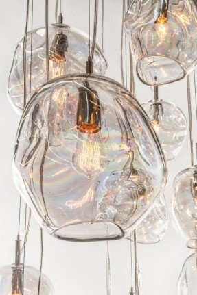 Amazing Well Known Hand Blown Glass Pendant Lights Within Glass Kitchen Pendant Lights Foter (Image 1 of 25)