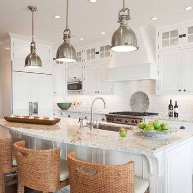 Amazing Well Known Stainless Steel Pendant Lights For Kitchen In George Copper Light French Quarter Lantern On Hanging Chain (Image 3 of 25)