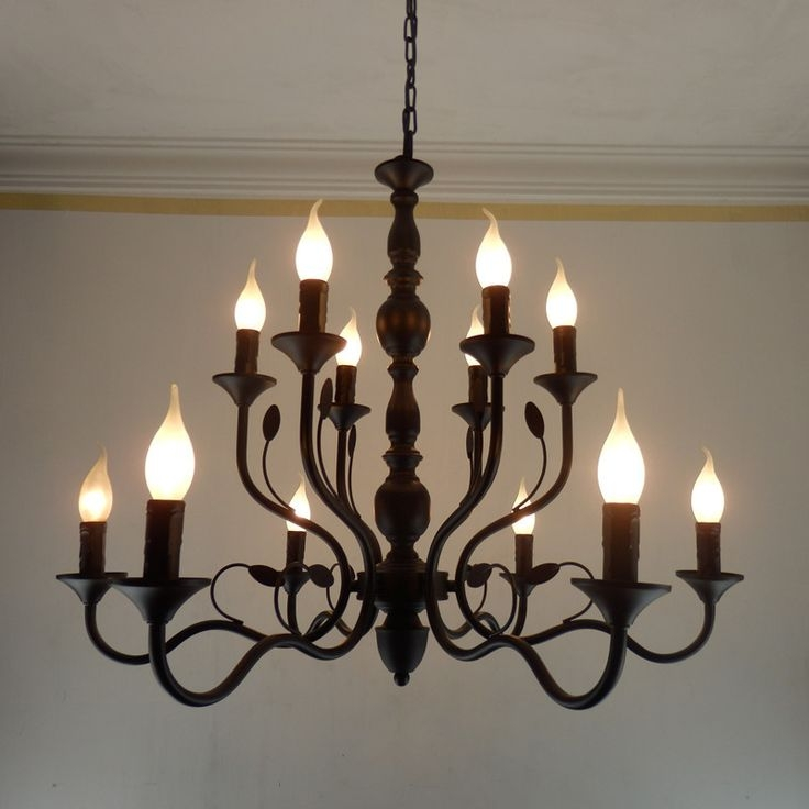 Amazing Well Known Wrought Iron Light Fittings With Regard To Best 25 Wrought Iron Chandeliers Ideas On Pinterest Wrought (Image 1 of 25)