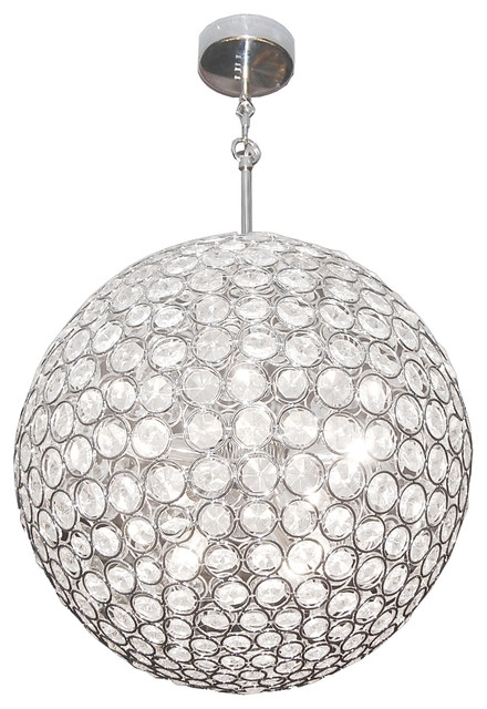 Amazing Wellliked Black Pendant Light With Crystals In Crystal Globe Light Shade Roselawnlutheran (Image 5 of 25)