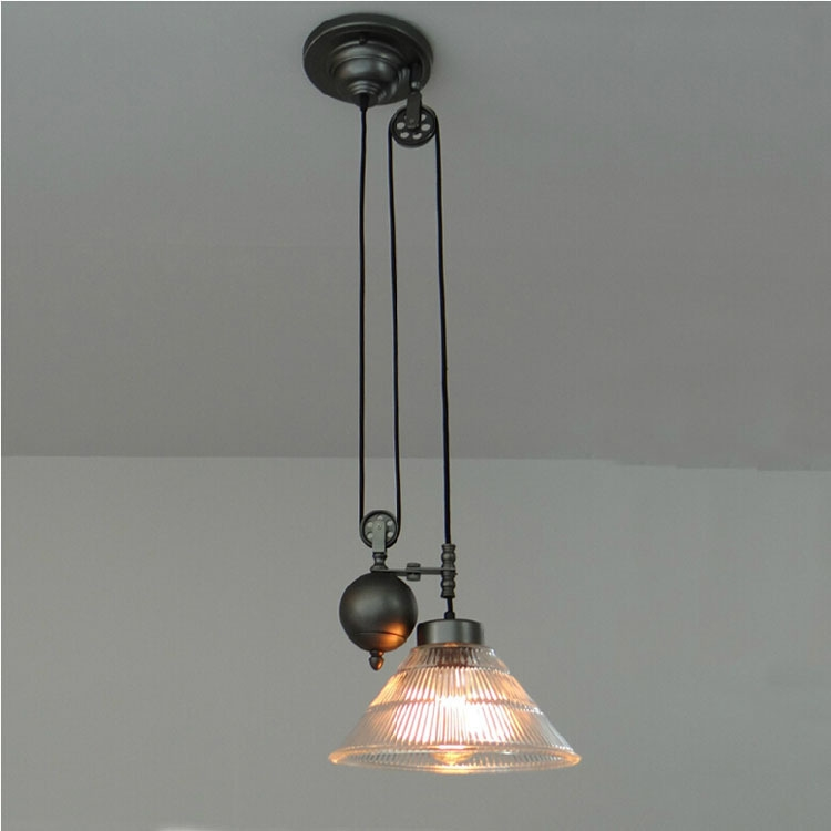 Amazing Wellliked Double Pulley Pendant Lights For Popular Brown Glass Lamp Buy Cheap Brown Glass Lamp Lots From (Image 2 of 25)