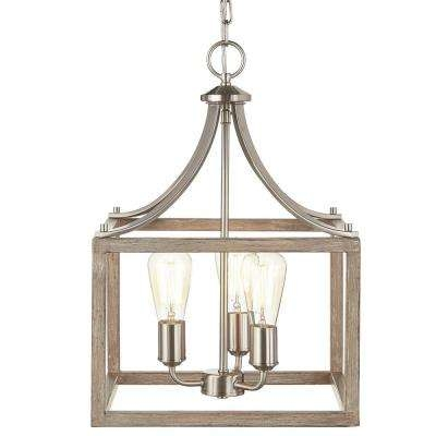 Amazing Wellliked Lantern Style Pendant Lights Throughout Candle Style Pendant Lights Hanging Lights The Home Depot (Image 2 of 25)