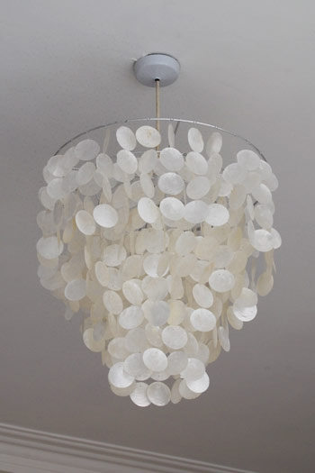 Amazing Wellliked Shell Light Shades For Capiz Lamp Shade Ceiling Pendant Bedrooms And Ceilings (View 3 of 25)
