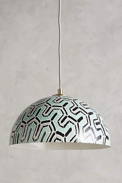 Amazing Widely Used Mercury Glass Pendant Lights At Anthropologie With Winding Course Pendant Diffusers Pendants And The Ojays (Image 2 of 25)