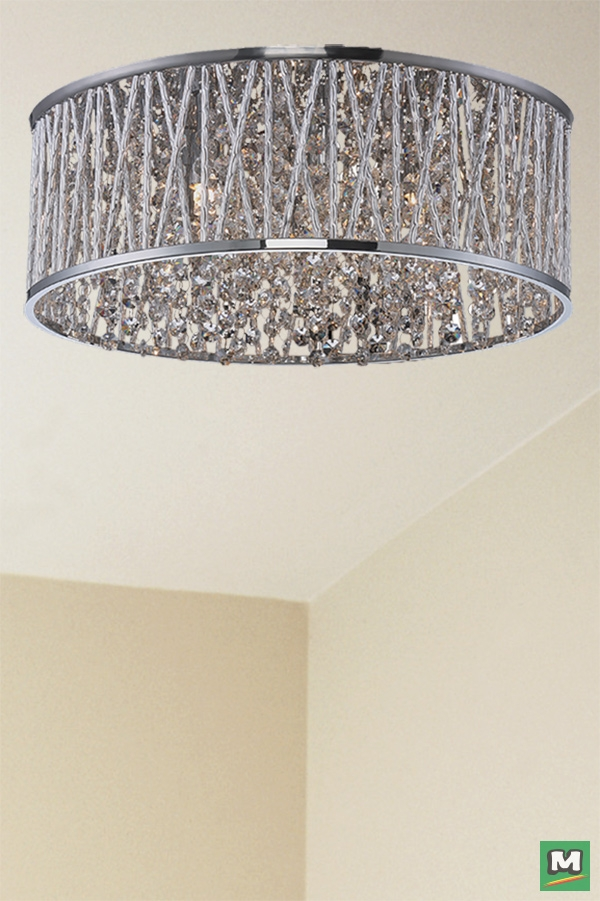 Amazing Widely Used Patriot Lighting Pendants Inside Patriot Lighting Edwardian Chrome Pendant With Crystal Accents (Image 3 of 25)