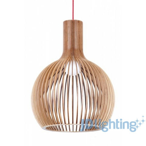 Amazing Widely Used Wooden Pendant Lights For Sale With Fiorentino Guarin Timber Veneer Pendant Light 145 Lighting (Image 4 of 25)