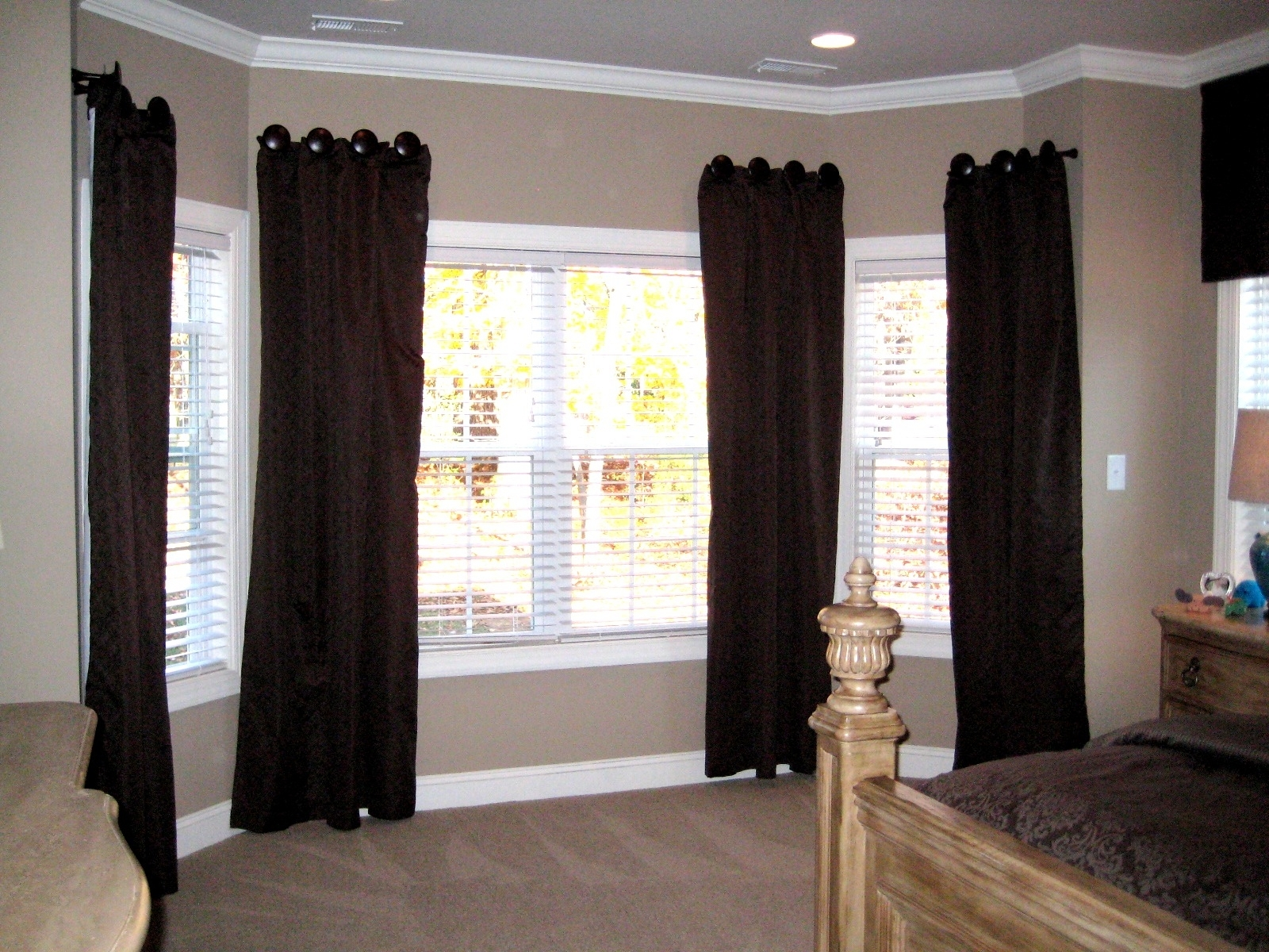 Amazing Window Coverings For French Doors Doors Windows Ideas Within Fabric Door Curtains (Image 1 of 25)